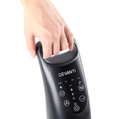 Devanti Portable Cross Flow Tower Fan - Black