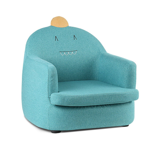 Artiss Kids Fabric Armchair Couch Dinosaur Chair Green