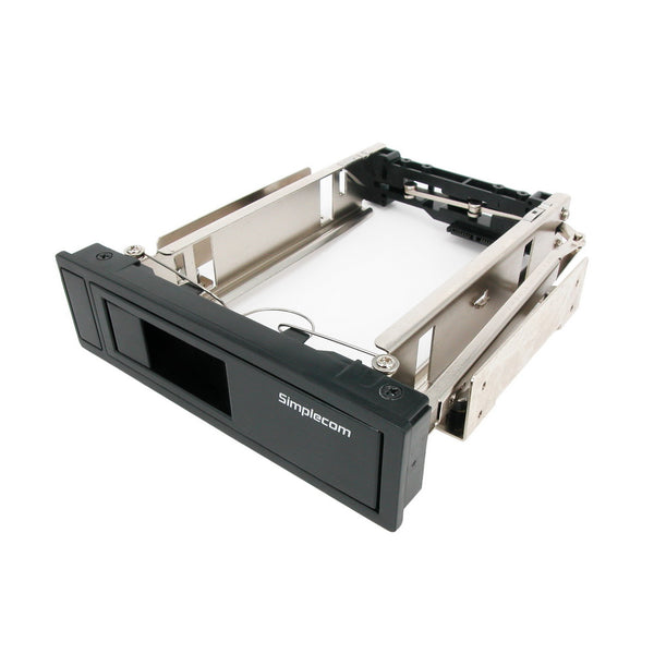 "Simplecom SC314 Internal 5.25 Bay Mobile Rack 3.5"" SATA HDD Backplane Enclosure """