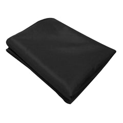 Set of 6 152 x 259 Table Cloths - Black