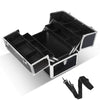 Embellir Portable Cosmetic Beauty Makeup Case - Crocodile Black