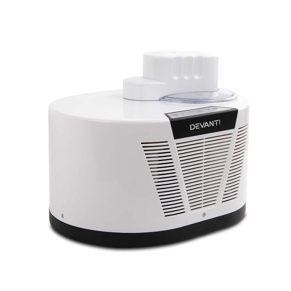 Devanti Ice Cream Maker with Built in Compressor