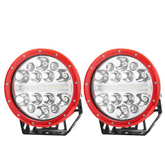 2pcs 9inch CREE LED Driving Lights Spotlights Spot Flood Combo 4x4 OffRoad SUV