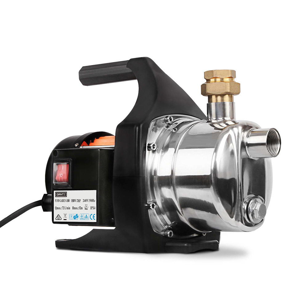 Giantz 1500W Garden High Pressure Water Pump