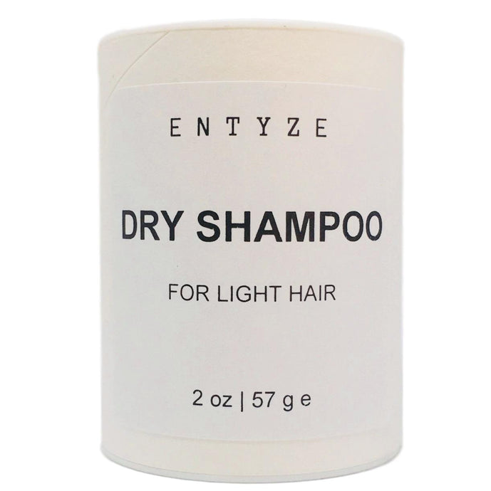 Dry Shampoo for Light Hair|Dry Shampoo|Shampoo|Organic Shampoo|Natural Shampoo|Hair Care|Hair Cleanse|Hair Maintenance|Non-Toxic Shampoo|Entyze|Natural Skincare|Organic Ingredients