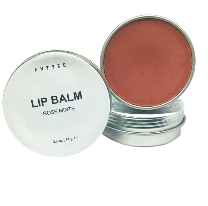 Rose Mints Lip Balm|Lip Balm|Lip Butter|Lip Tint|Lip Scrub|Organic Lip Balm|Natural Lip Balm|Lip Salve|Essential Oils|Entyze|Natural Skincare|Best Lip Balm|Lip Balm for Dry Lips|Chapstick|Dry Lips
