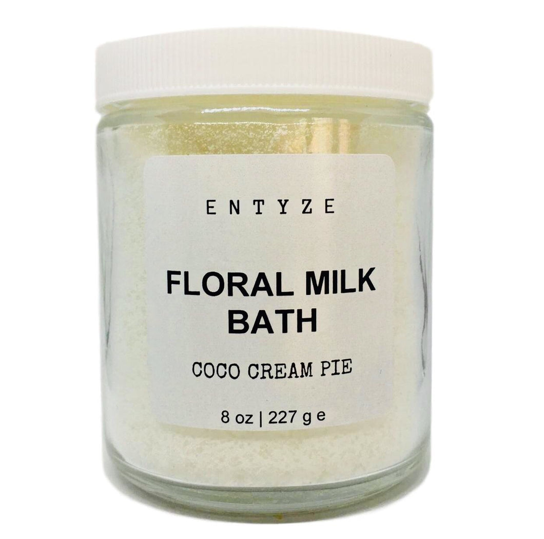 Coco Cream Pie Floral Milk Bath