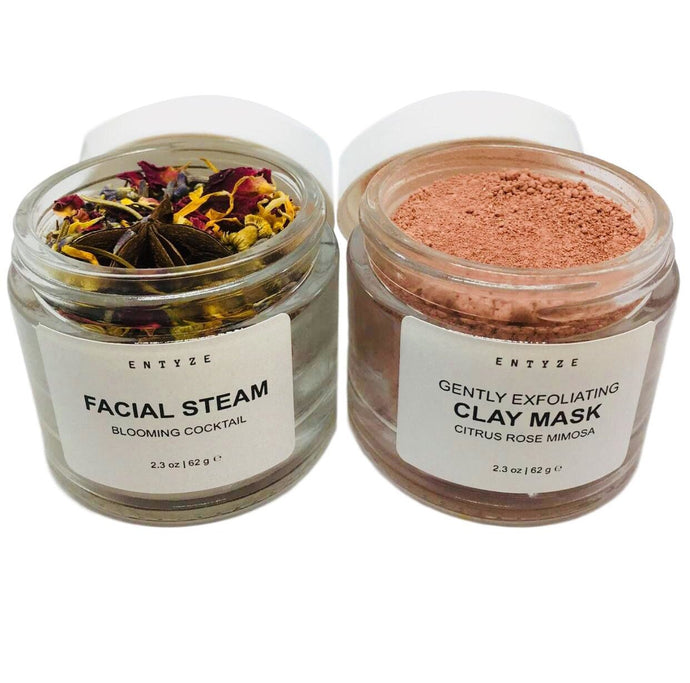Facial Detox Kit|Clay Mask|Face Mask|Face Steam|Facial Steam|Herbal Steam|Facial|Detox Mask|Acne Mask|Clay Face Mask|Exfoliate|Natural Skincare|Entyze|Facial Care|Facial Products