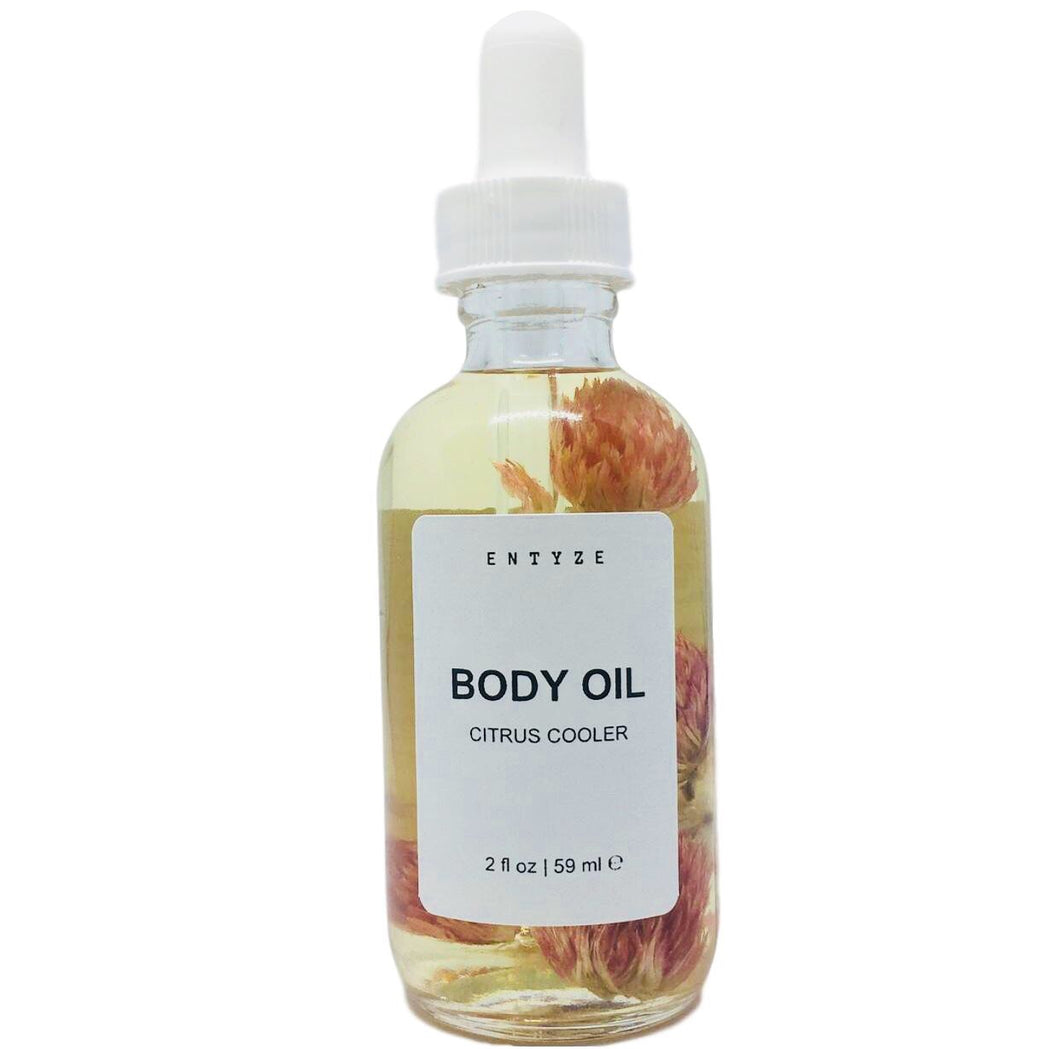 Citrus Cooler Bath & Body Oil|Bath Oil|Body Oil|Entyze|Massage Oil|Spa|Floral Oil|Aromatherapy|Natural Skincare|Dry Skin|Moisturizer|Dry Skin Treatment|Organic Ingredients|Vegan Body Oil|100% Organic|Hydrating Body Oil|Glowing Body Oil|Citrus Body Oil|Luxury Body Oil|Lemon Body Oil|Shower Oil|Nourishing Body Oil|Cruelty Free Skincare|Best Body Oil|Best Skincare for Dry Skin|Organic Skincare