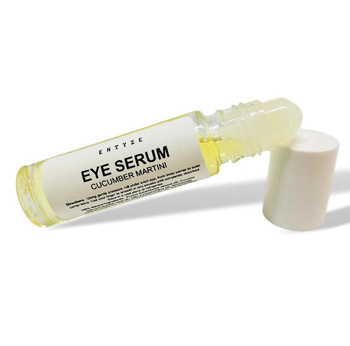 Cucumber eye serum|eye serum|best eye serum|organic eye serum|roll on|under eye serum|antiaging serum|eye cream|dark circles|puffy eyes|fine lines|under eye treatment|natural eye serum|organic eye cream|entyze|natural skincare