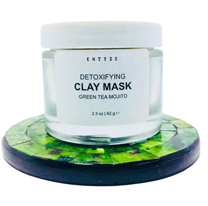 Green Tea Mojito Clay Mask|Clay Mask |Face Mask|Clay Face Mask|Facial Mask|Facial|Mud Mask|Acne Mask|Detox Mask|Best Clay Mask|Best Face Mask|Natural Skincare|Best Skincare for Dry Skin|Best Skincare for Acne Prone Skin