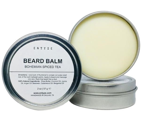 Bohemian Spiced Beard Balm|Beard Care|Beard Balm|Beard Maintenance|Beard Grooming|Beard Wax|Moustache Balm|Beard Care Products|Best Beard Balm|Best Beard Wax|Best Beard Care Products|Grooming|Entyze|Gifts for Him|Gifts for Boyfriend|Gifts for Husband|Natural Skincare