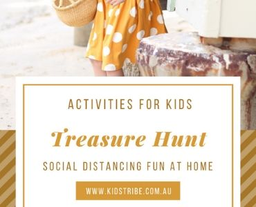 Fun Home Activities - Treasure Hunt