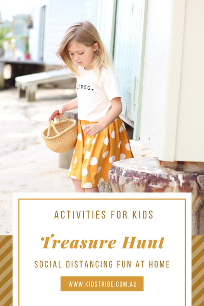Kids Home Activities Treasure Hunt