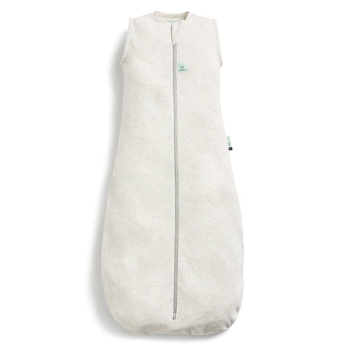 ergoPouch 1.0 tog Organic Jersey Sleeping Bag - Grey Marle