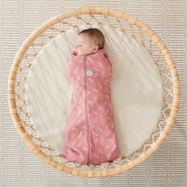 ergoCocoon 0.2 tog Organic Bamboo Swaddle - Quill