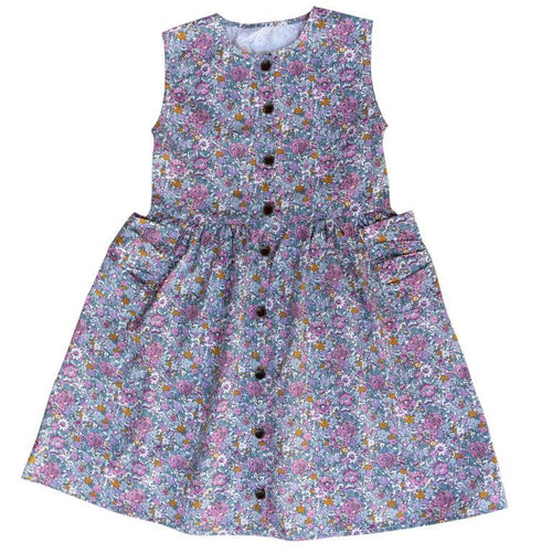 Ruffets and Co Miranda Dress - Floral