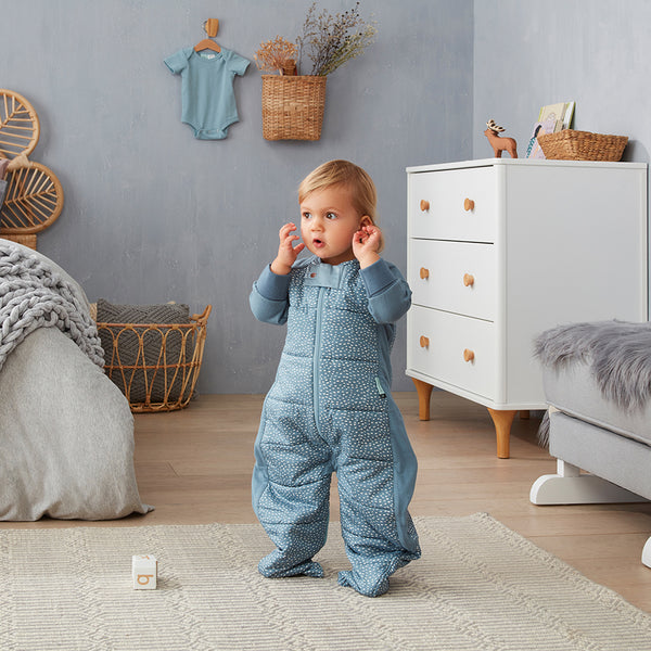 ergoPouch 2.5 tog Organic Sleepsuit/Bag - Pebble