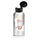 My Family Stainless Steel Bottle - Llama