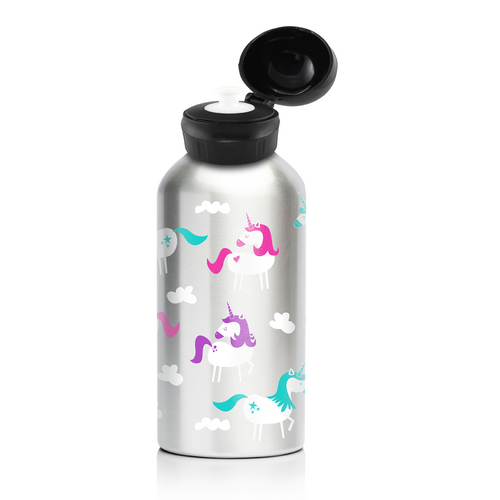 My Family Stainless Steel Bottle - Unicorn