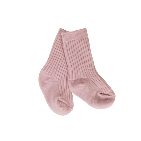 Peggy Polly Ankle Socks - Dusty Pink