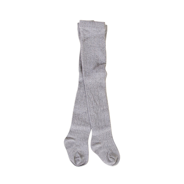 Peggy Savana Baby Tights - Grey Marle