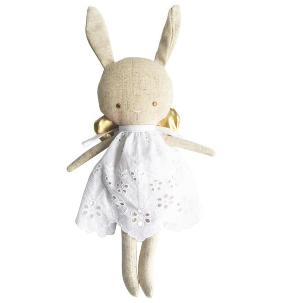 Alimrose Linen Baby Angel - Gold