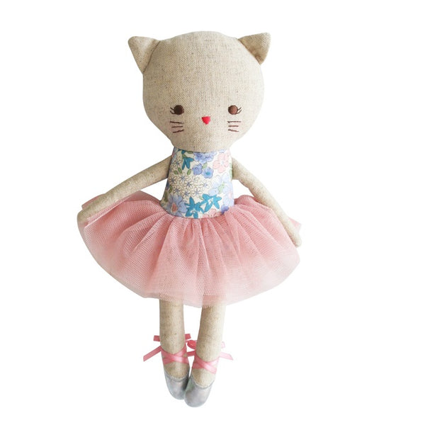 Alimrose Odette Kitty Ballerina - Liberty Blue