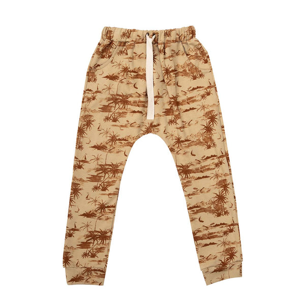 Raised By The Desert Archer Pants - Mahalo - Husk