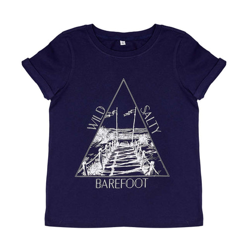 Raised By The Desert Barefoot/Salty T-Shirt - Night Sky
