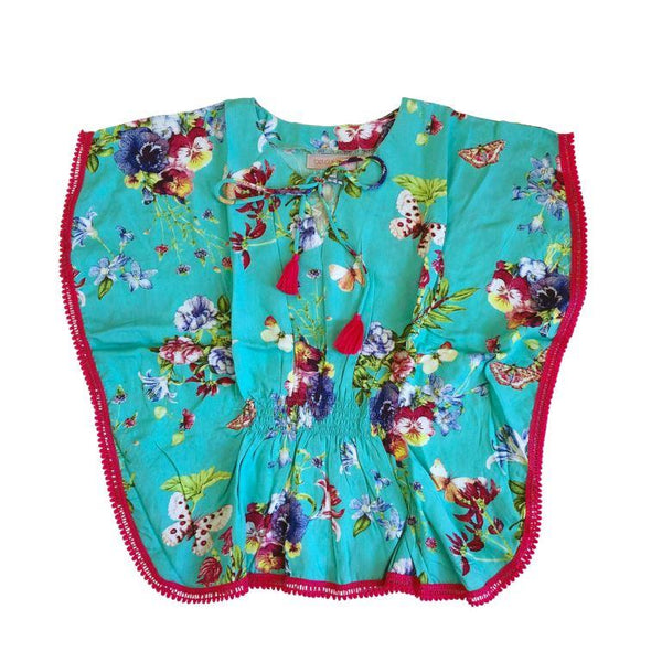 Bela & Nuni Kaftan Top - Butterfly Dreams