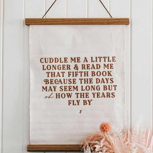 Bencer + Hazelnut Wall Hanging - Cuddle Me