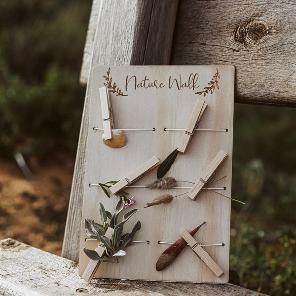 Bloomlette Timber Nature Board - Little Wanderer