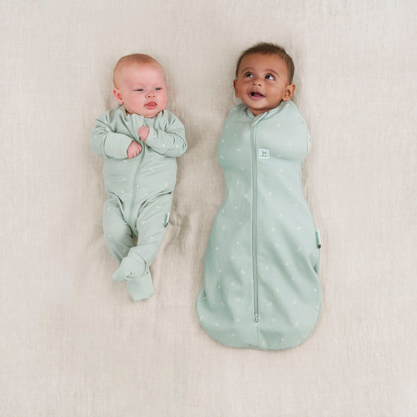 ergoPouch Cocoon 1 Tog Organic Baby Swaddle - Sage