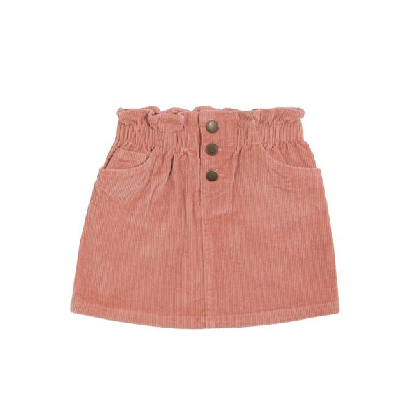 Goldie + Ace Gia Corduroy Skirt - Rose