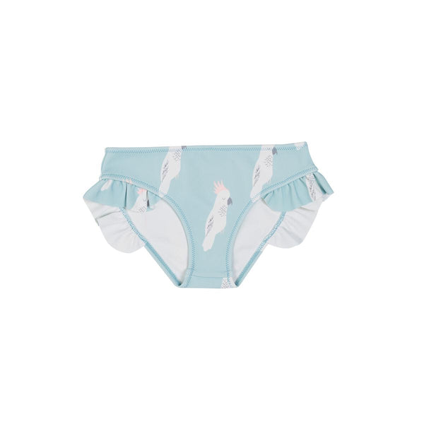 Goldie + Ace Swim Bikini Bottom - Cockatoo Party
