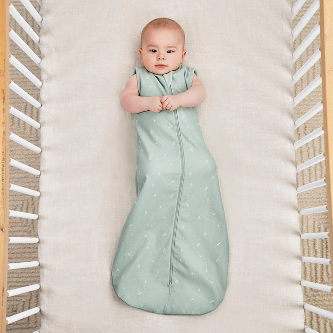 ergoPouch 0.2 tog Organic Jersey Sleeping Bag - Sage