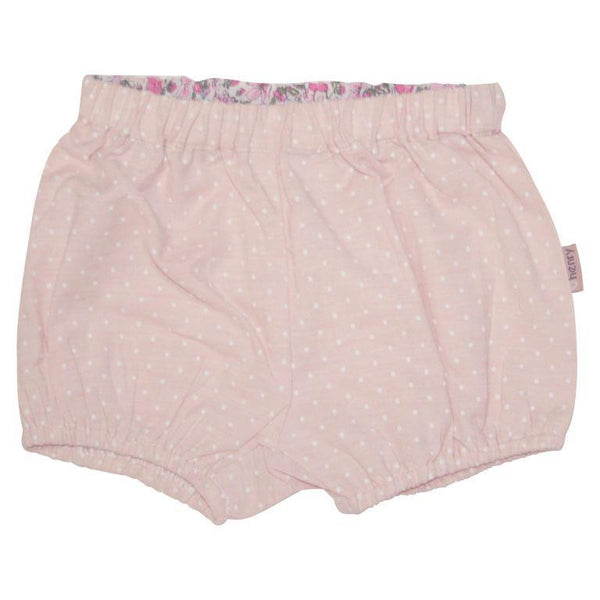 Love Henry Gathered Pilcher Shorts - Pink