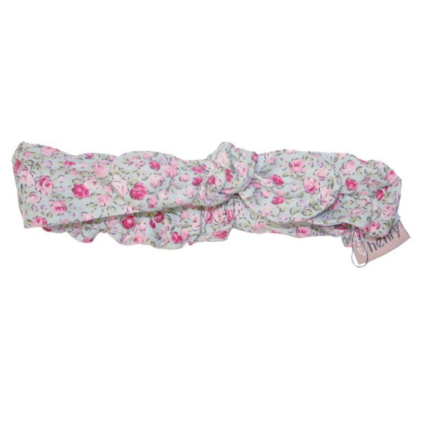 Love Henry Head Band - Green Floral