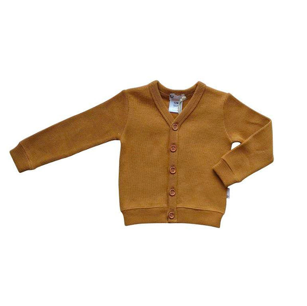 Love Henry Rib Cardigan - Bronze