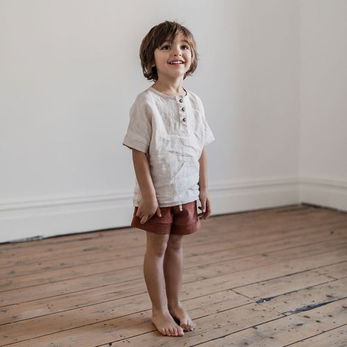 Lupine and Luna Elwood Shorts - Copper