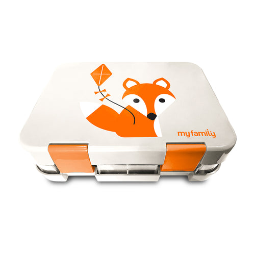 My Family Easy Clean Bento Box - Fox
