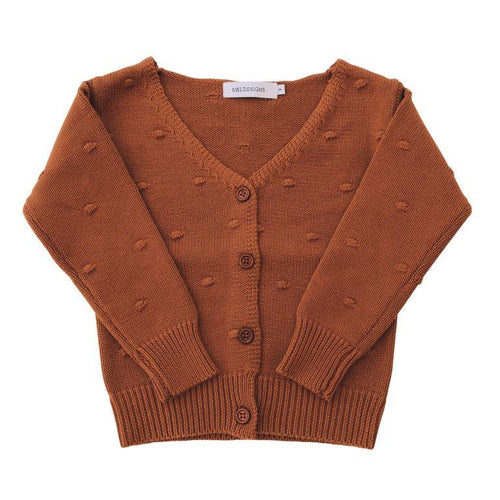ML Designs Julia Cardigan - Spice