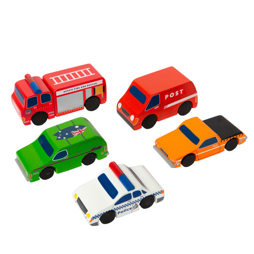 Make Me Iconic - Australian Mini Vehicle Set