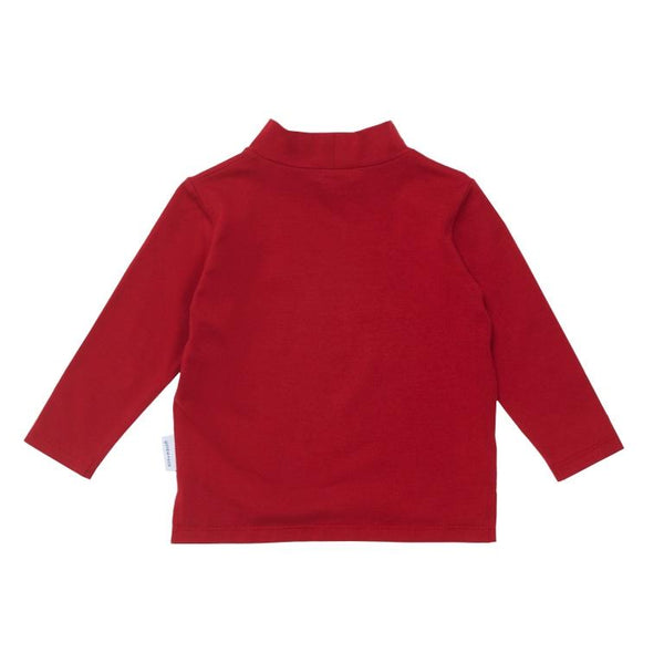 Goldie + Ace Mini Skivvy Top - Pompian Red
