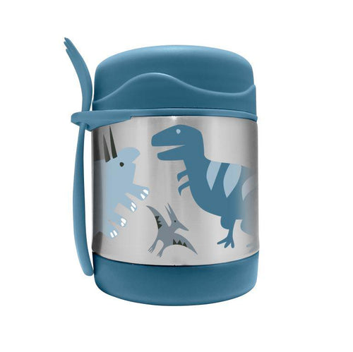 My Family Stainless Steel Food Jar - Dino T-Rex