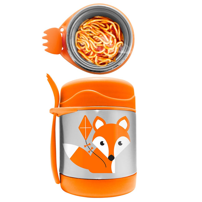 My Family Stainless Steel Food Jar - Fox