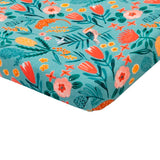 Goldie + Ace Fitted Bassinet Sheet - Native Garden