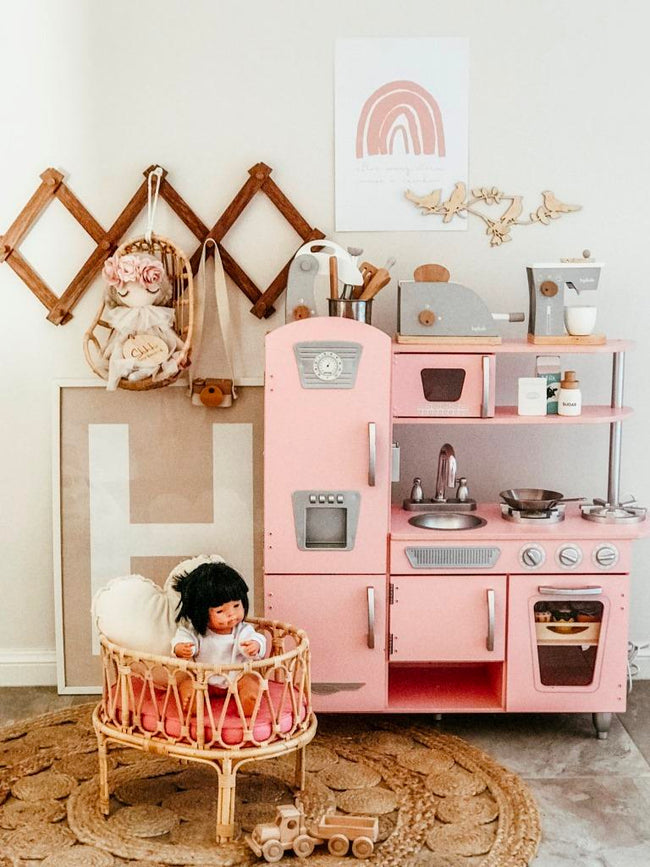 Poppie Toys - Crib - Blush