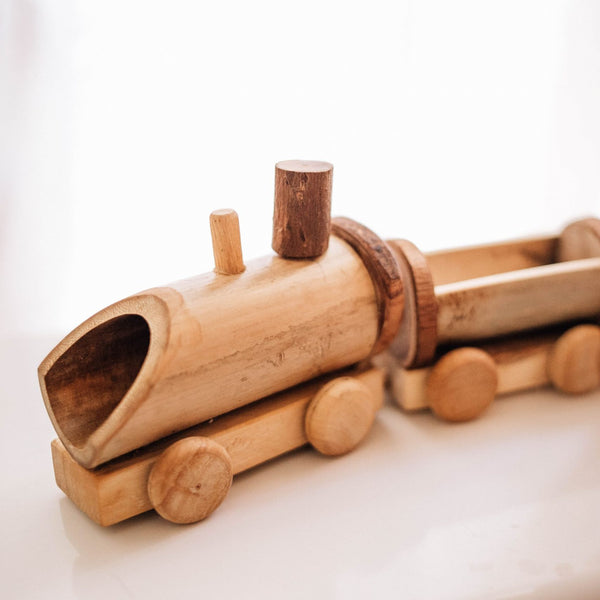 Qtoys - Bamboo Train